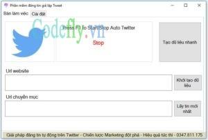Full code phần mền đăng tin tự động twitter – Auto tweet