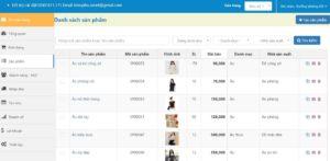 Full Source Code Phần mềm quản lý bán hàng online chuyên nghiệp bằng PHP