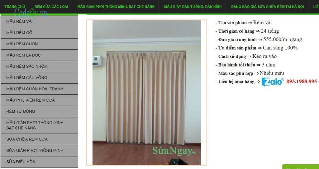 Chia sẻ theme wordpress giao diện đẹp, chuẩn seo chủ đề nội thất