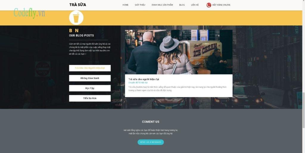 source code web bán trà sữa dành cho các bạn làm đồ án cuối kì hoặc bán hàng