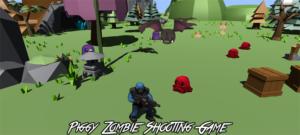 Trò chơi bắn súng Piggy Zombie trong Unity Engine full source code