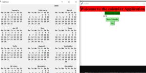 Trình tạo lịch bằng Python với mã nguồn