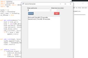 Danh sách việc cần làm trong Python với mã nguồn