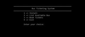 Hệ thống bán vé xe buýt trong C ++ với mã nguồn