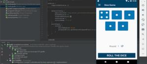 game source code Trò chơi xúc xắc trong Android