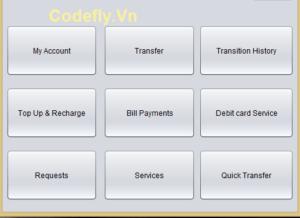 Hệ thống quản lý ngân hàng trong Java