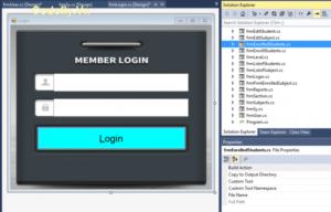 Tải xuống miễn phí Hệ thống ghi danh trong c# (Ứng dụng Windows)