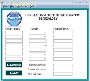 Tải xuống miễn phí máy tính CGPA trong c # (Ứng dụng Windows)
