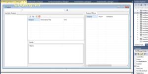Lập lịch lớp học và Hệ thống sắp xếp thời gian trong c #